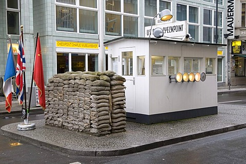 Wall Museum, House at Checkpoint Charlie, Berlin, Germany, Europe