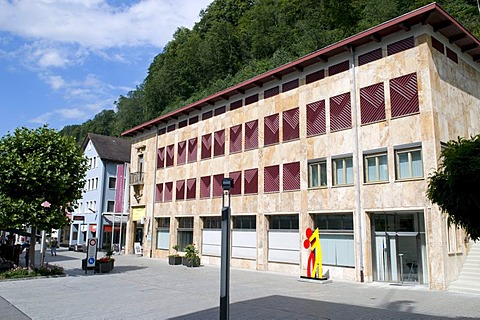 Kunstraum Art Gallery, Vaduz, Principality of Liechtenstein, Europe