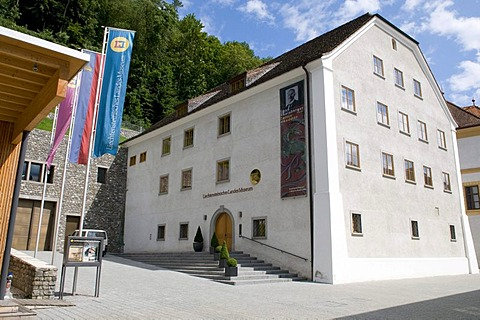 National Museum, Vaduz, Principality of Liechtenstein, Europe