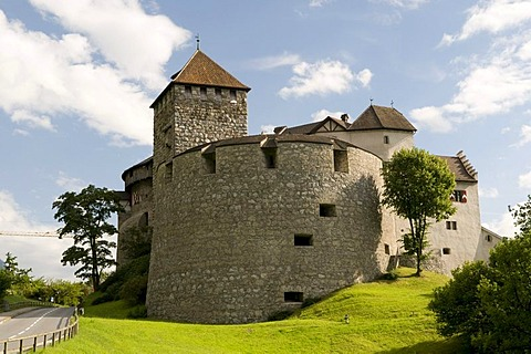 Schloss Vaduz Castle, Principality of Liechtenstein, Europe