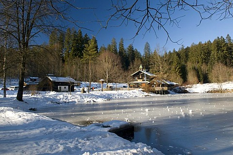 Restaurant Trifter Klause, Schwellhaeusl, Bavarian Forest, Bavaria, Germany, Europe