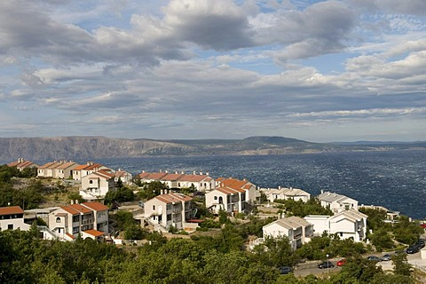 View of Kvarner Gulf at Senj, Croatia, Europe