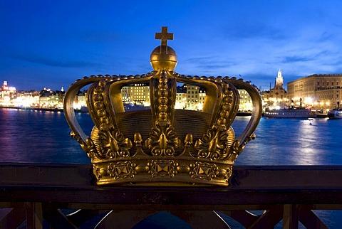 Royal crown, Stockholm, Sweden, Scandinavia, Europe