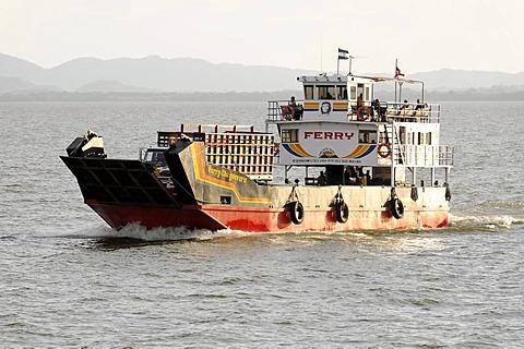Ferry, El Che Guevara, Ometepe Island, Lake Nicaragua, Nicaragua, Central America