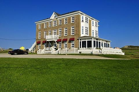 Historic Domaine du Vieux Couvant Hotel, Ile du Havre aux Maisons, Iles de la Madeleine, Magdalen Islands, Quebec Maritime, Canada, North America