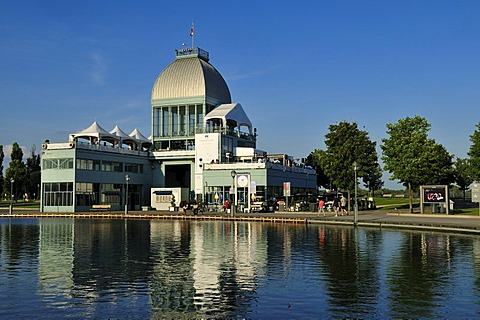 Cafe Pavillion at Bassin Bonsecours, Montreal, Quebec, Canada, North America