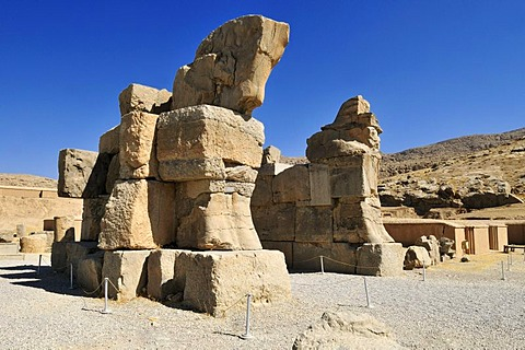 Achaemenid archeological site of Persepolis, UNESCO World Heritage Site, Persia, Iran, Asia