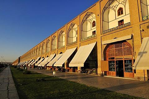 Meidan-e Emam, Naqsh-e Jahan, Imam Square with Sheik Lotfollah, Lotf Allah Mosque, UNESCO World Heritage Site, Esfahan, Isfahan, Iran, Persia, Asia