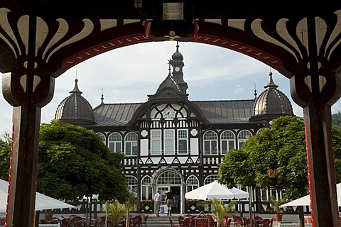 Kurhaus, spa hotel, Bad Salzungen, Thuringia, Germany, Europe