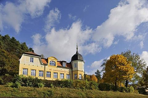 State kindergarten, Neuhaus, Triesting Valley, Lower Austria, Austria, Europe