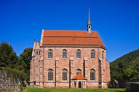 Hirsau Abbey, Mary's Chapel, Hirsau, Black Forest, Baden-Wuerttemberg, Germany, Europe