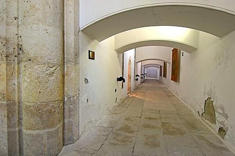 Bodega de aceite, Museo de la cultura del Olivo, museum on the cultural history of the olive tree, Puente del Obispo, Baeza, province of Jaen, Andalusia, Spain, Europe