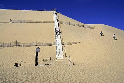 Dune de Pyla sand dune, Arcachon, Atlantic Coast, Bordeaux, France, Europe