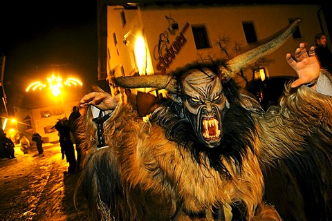 Tuifllauf, Devil's Procession, Fulpmes, Stubai Valley, Austria, Europe - 832-189409