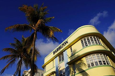 Barbizon Hotel, Ocean Drive, Miami South Beach, Art Deco district, Florida, USA