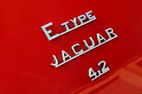 Jaguar E-Type 4.2 ltr, detail