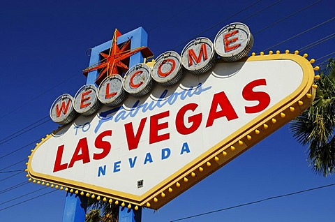 Welcome sign, Las Vegas, Nevada, USA