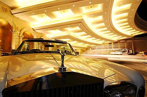 Rolls Royce, Caesar's Palace, Las Vegas, Nevada, USA - 832-190356