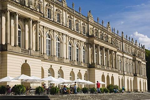 Herrenchiemsee Palace, Herreninsel, Gentleman's Island, Lake Chiemsee, Chiemgau, Upper Bavaria, Germany, Europe