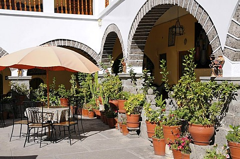 CourtyardHotel Santa Rosa, Ayacucho, Inca settlement, Quechua settlement, Peru, South America, Latin America