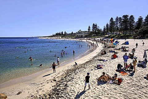 Cottesloe Beach foreshore, Perth, Western Australia