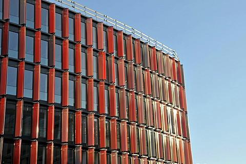 Cologne's first EU GreenBuilding, new office tower of the Deutsche Krankenversicherung, German Health Insurance, Cologne, North Rhine-Westphalia, Germany, Europe