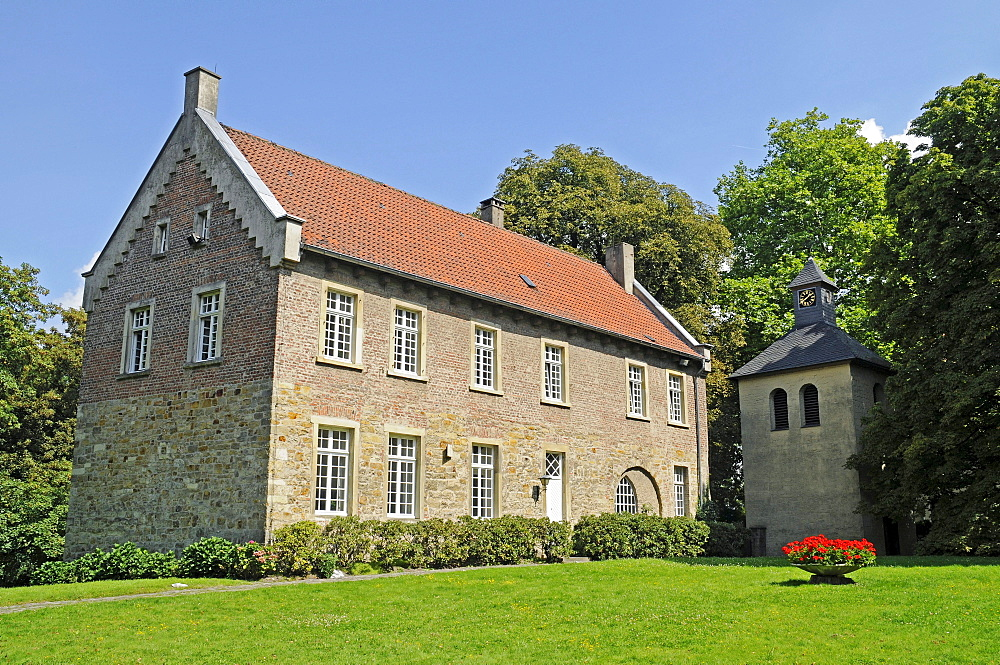 Schloss Cappenberg castle, monastery, Selm, Kreis Unna district, North Rhine-Westphalia, Germany, Europe