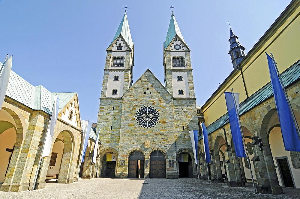 Church of the Visitation, pilgrimage basilica, Werl, Soest district, North Rhine-Westphalia, Germany, Europe
