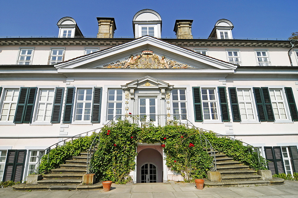 Castle, fortress, classicism, museum, Bad Pyrmont, Lower Saxony, Germany, Europe