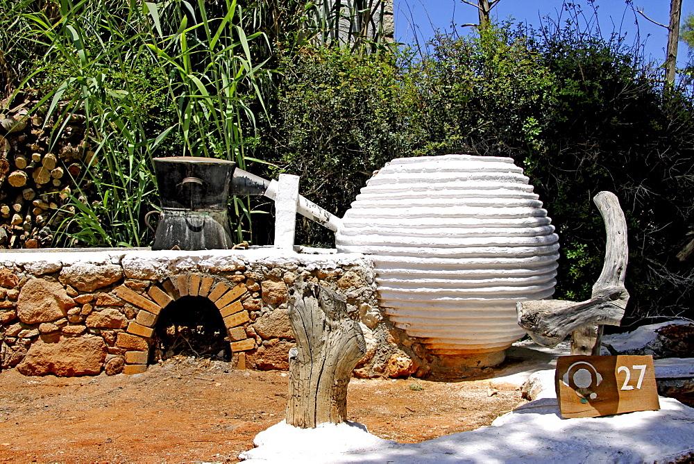Schnapps distillery, Lychnostatis Open Air Museum, Museum of the traditional Cretan life, Hersonissos, Crete, Greece, Europe