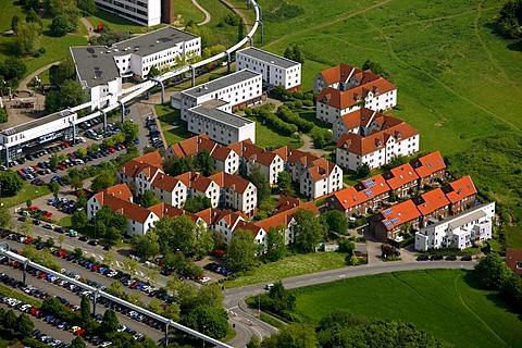 University of Dortmund, student accommodation, Dortmund, Ruhr area, North Rhine-Westphalia, Germany, Europe