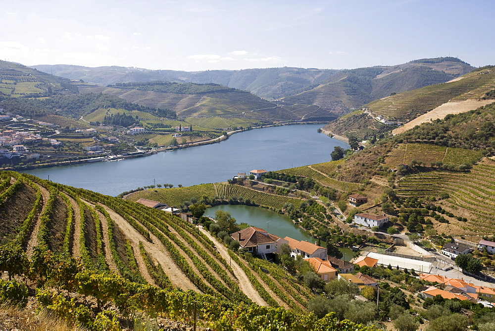 Covelinhas village, Peso da Regua, Douro, Portugal, Europe