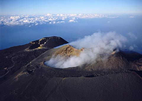 Mount Etna, 3340 m, Sicily, Italy, Europe