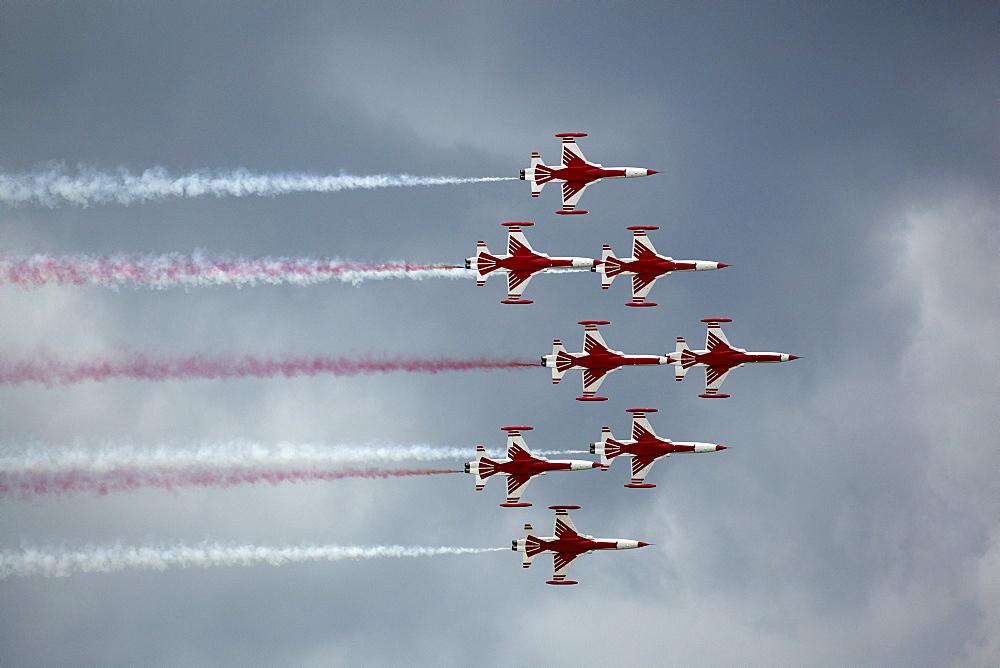 Turkish Stars aerobatic team, Turkey, Airpower 2009 in Zeltweg, Austria, Europe