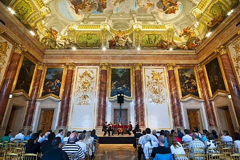 Concert in the Festival Hall, Palais Liechtenstein, Vienna, Austria, Europe