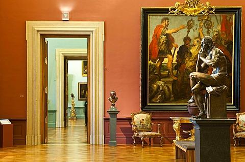 Liechtenstein Museum, Palais Liechtenstein city palace, Vienna, Austria, Europe