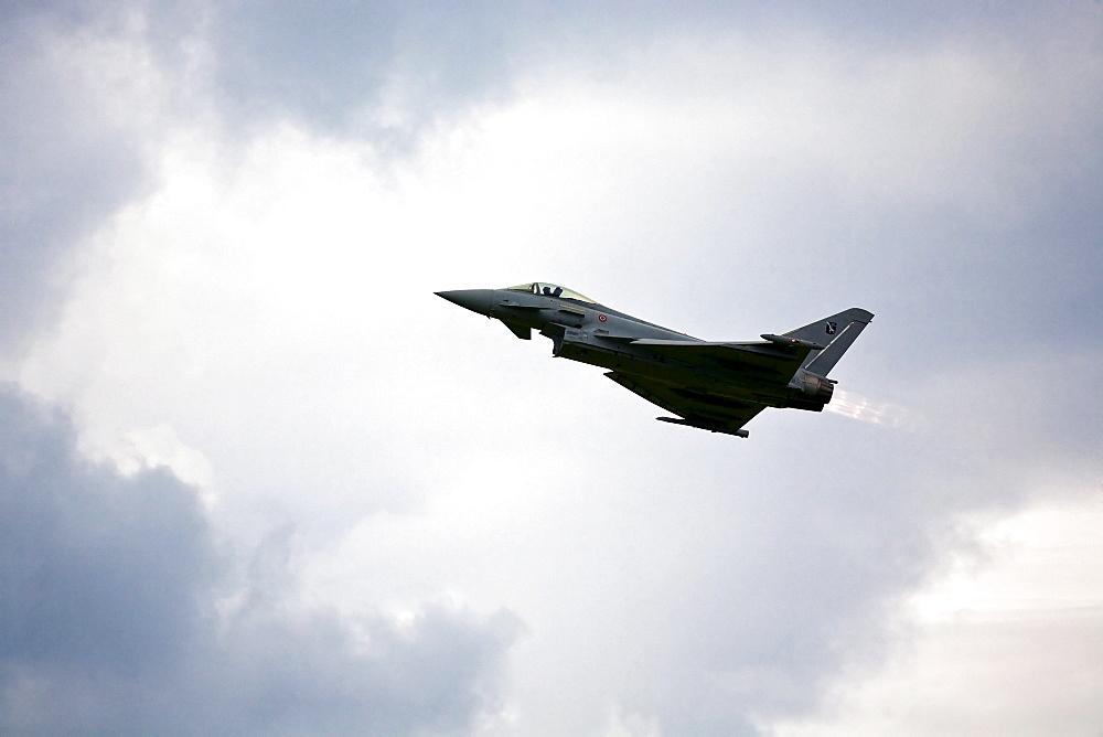 The Eurofighter Typhoon at the Airpower 2009 in Zeltweg, Styria, Austria, Europe