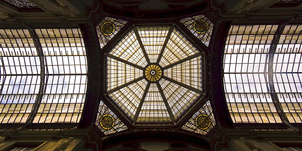 City hall building, gallery glass roof, Guayaquil, Guayas Province, Ecuador, South America