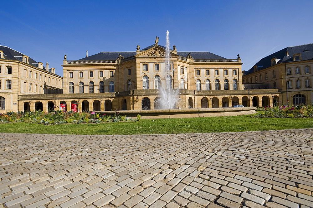 Place de la Comedie, Opera House, Metz, Lorraine, France, Europe, PublicGround