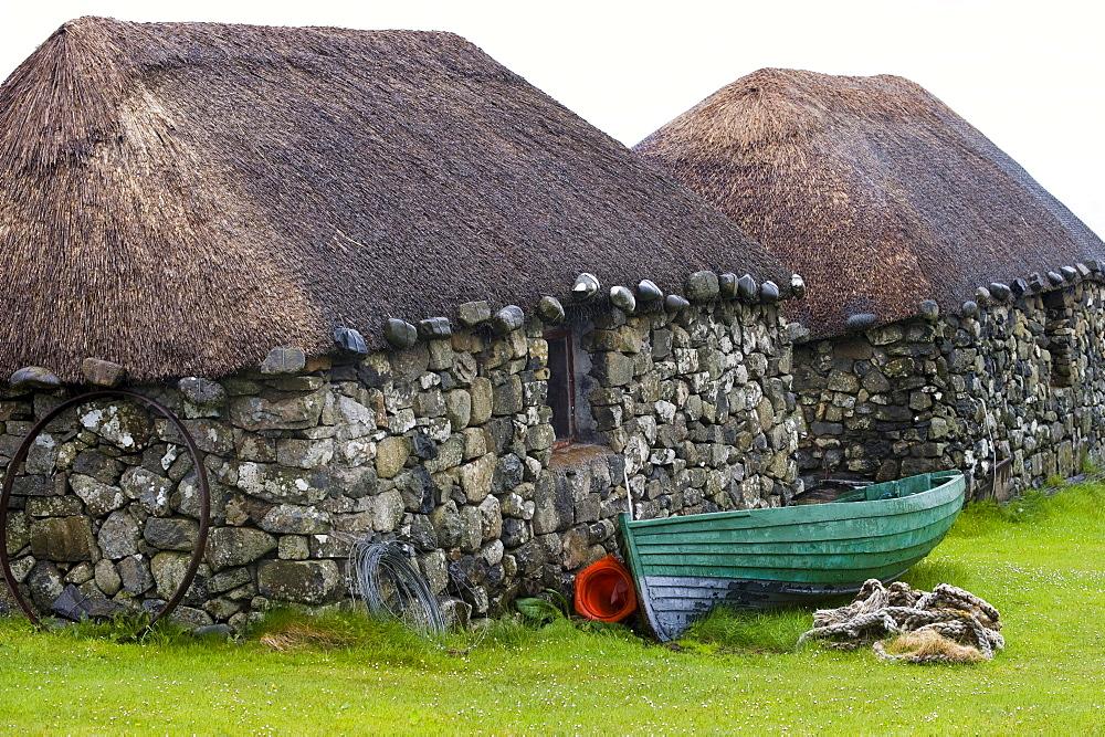 Skye Museum Of Island Life, Kilmuir, Isle of Skye, Scotland, United Kingdom, Europe