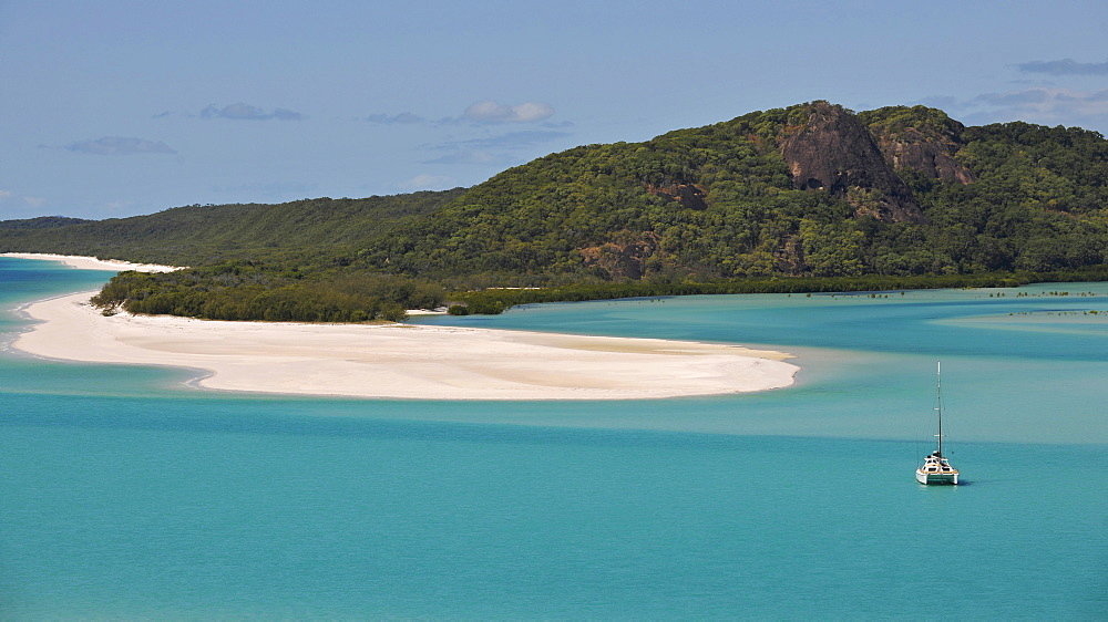 Whitehaven Beach, Whitsunday Island, Whitsunday Islands National Park, Queensland, Australia