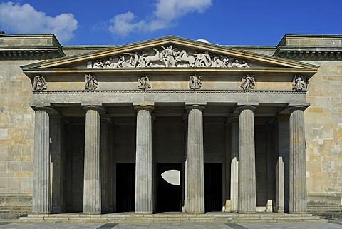 Neue Wache building by Karl Friedrich Schinkel, Unter den Linden avenue, Berlin Mitte district, Berlin, Germany, Europe