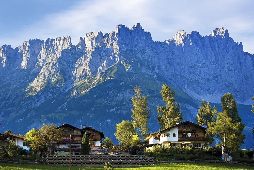 Wilder Kaiser mountain range, Tyrol, Austria, Europe