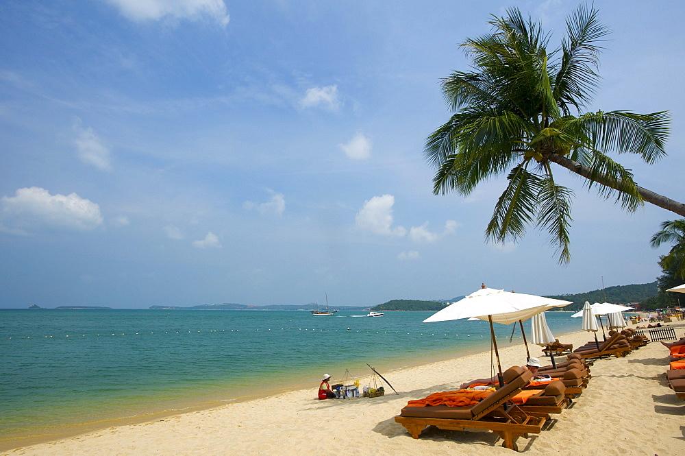 Mae Nam Beach, Ko Samui island, Thailand, Asia