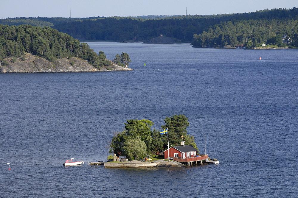 Archipelago with islands, Stockholm, Sweden, Europe