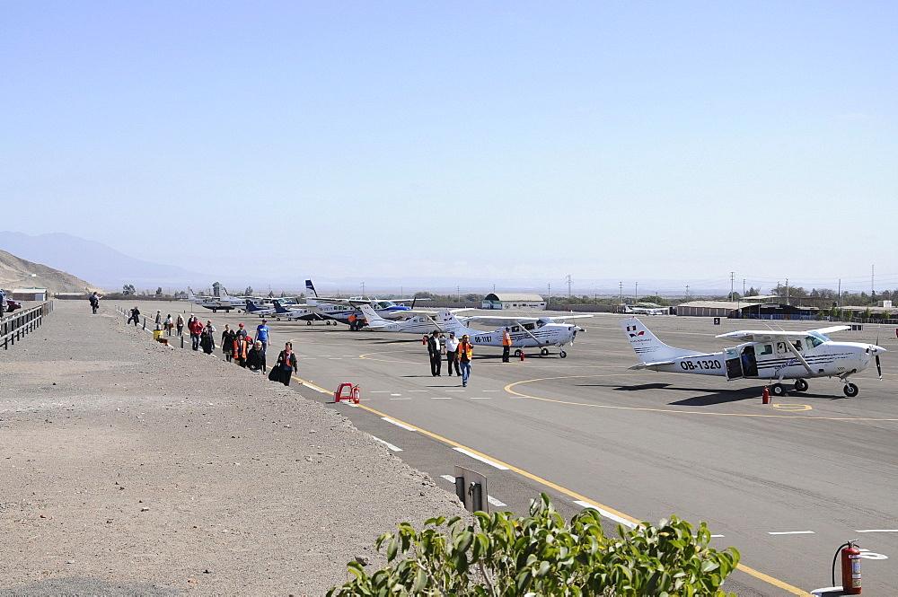 Airport, Nazca Lines, Nazca, Peru, South America, Latin America