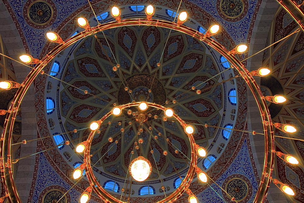 Merkez Mosque DITIB, Turkish-Islamic Union for Religious Affairs, Marxloh Duisburg, North Rhine-Westphalia, Germany, Europe