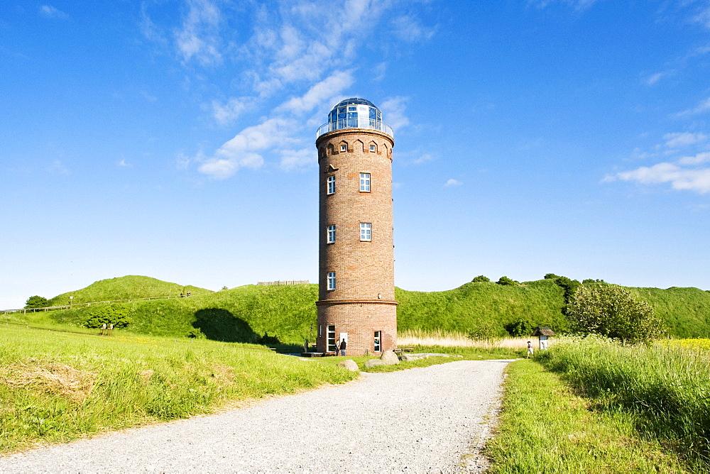 Peilturm electric beacon tower, Cape Arkona, Mecklenburg-Western Pomerania, Germany, Europe