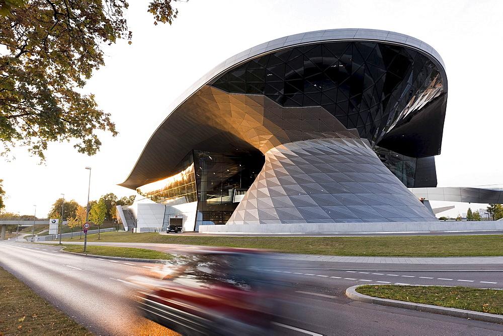 BMW Welt, BMW World exhibition building, Munich, Bavaria, Germany, Europe