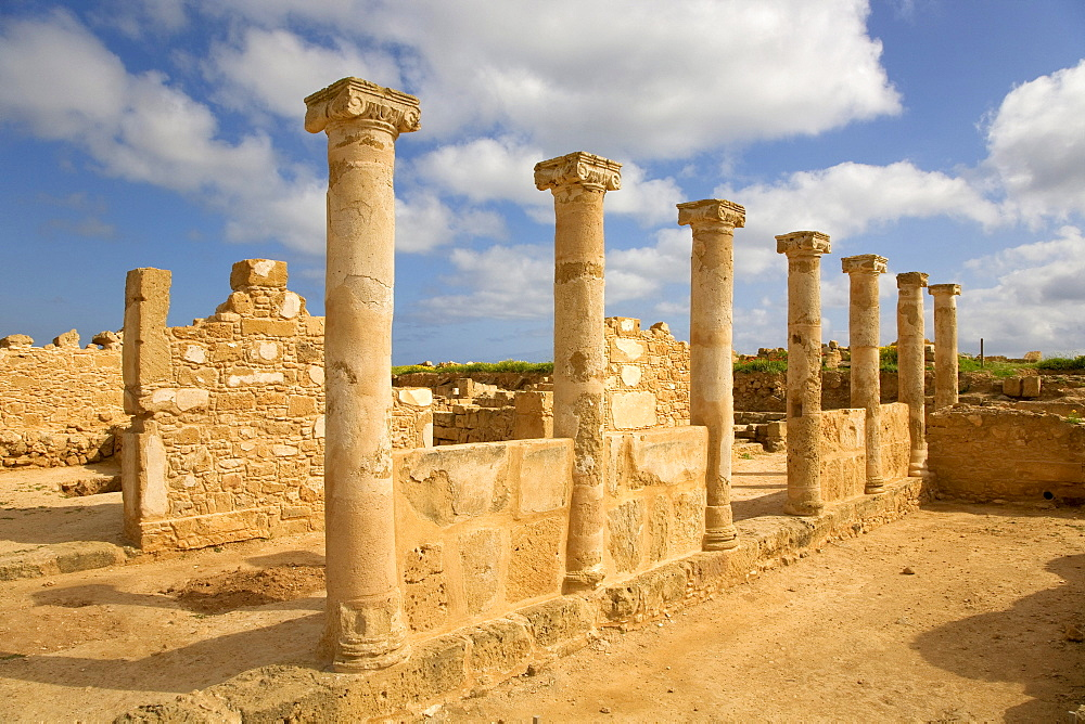 Archaeological site of Kato Pafos, UNESCO World Heritage Site, Paphos, Cyprus, Greece, Europe